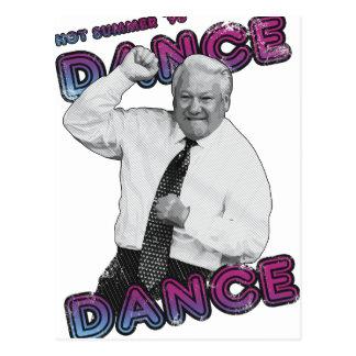 Cartão Postal Verão quente 1996 da dança da dança de Boris