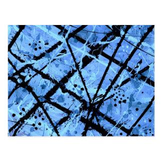 Cartão Postal (~ VERDADEIRO de um design da arte abstracta)