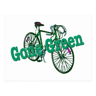 Cartão Postal Verde ido