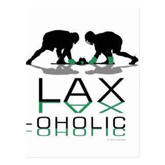 Cartão Postal Verde oholic RELAXADO dos meninos do Lacrosse