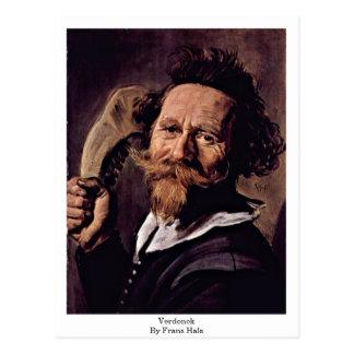 Cartão Postal Verdonck. Por Frans Hals