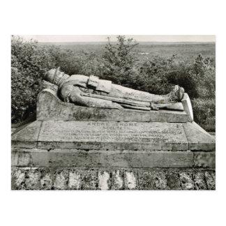 Cartão Postal Verdun, túmulo do guerreiro desconhecido