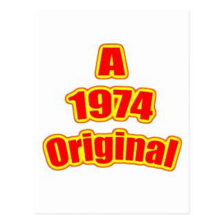 Cartão Postal Vermelho 1974 original