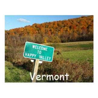 Cartão Postal Vermont