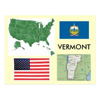 Cartão Postal Vermont, EUA
