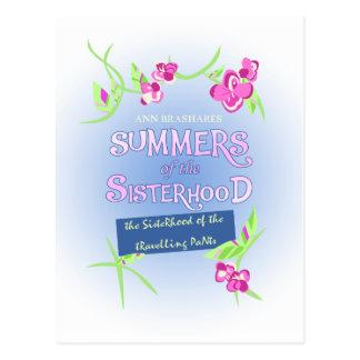 Cartão Postal Verões da irmandade