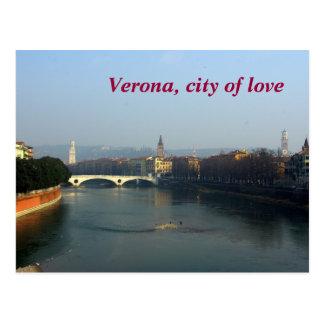 Cartão Postal Verona, cidade do amor
