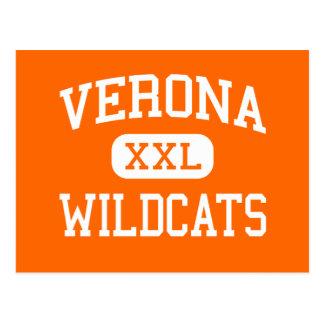 Cartão Postal Verona - Wildcats - área - Verona Wisconsin