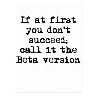 Cartão Postal Versão beta