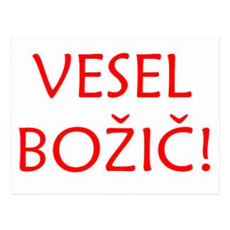 Cartão Postal Vesel Bozic