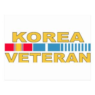 Cartão Postal Veterano de Coreia