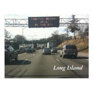 Cartão Postal Via expressa de Long Island
