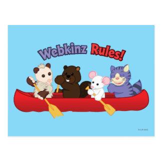 Cartão Postal Viagem 2 da canoa das regras de Webkinz | Webkinz