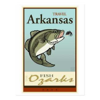 Cartão Postal Viagem Arkansas