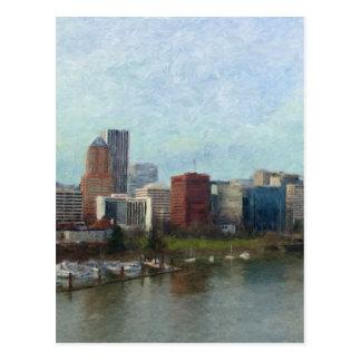 Cartão Postal Viagem através de Portland