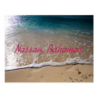 Cartão Postal Viagem de Bahamas para ela