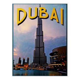 Cartão Postal Viagem de Dubai