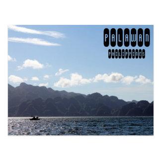 Cartão Postal Viagem de Palawan