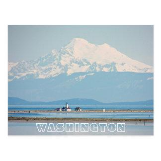 Cartão Postal Viagem do estado de Washington