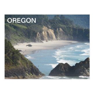 Cartão Postal Viagem do litoral de Oregon