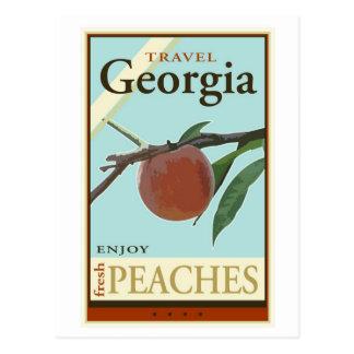 Cartão Postal Viagem Geórgia