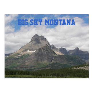 Cartão Postal Viagem grande de Montana do céu