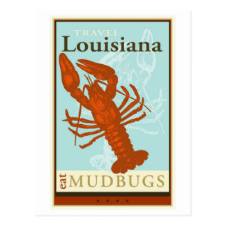 Cartão Postal Viagem Louisiana