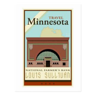 Cartão Postal Viagem Minnesota