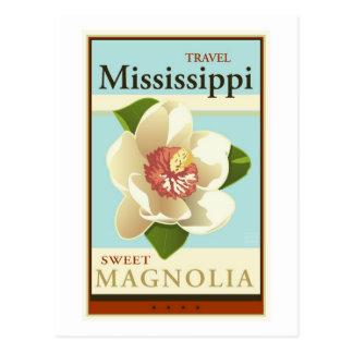 Cartão Postal Viagem Mississippi