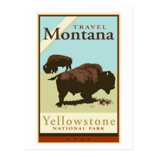 Cartão Postal Viagem Montana