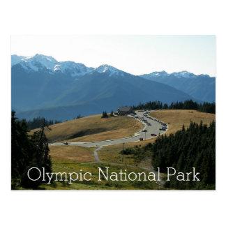 Cartão Postal Viagem olímpico do parque nacional