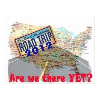 Cartão Postal Viagem por estrada 2012 - Somos nós lá ainda?