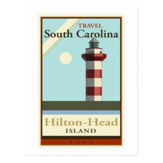 Cartão Postal Viagem South Carolina