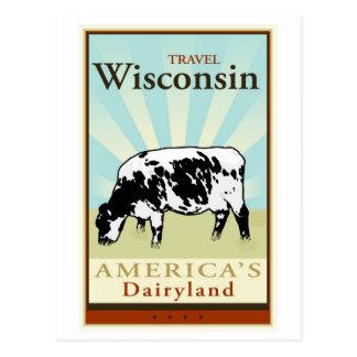 Cartão Postal Viagem Wisconsin