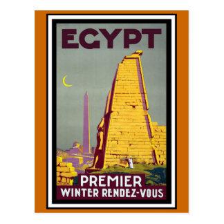 Cartão Postal Viagens vintage de Egipto