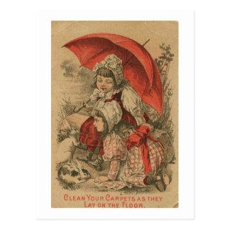 Cartão Postal Victorian Adverstisement