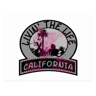 Cartão Postal Vida de Califórnia
