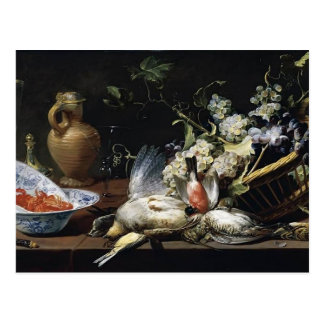 Cartão Postal Vida de Frans Snyders- ainda