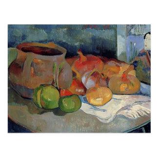 Cartão Postal Vida de Paul Gauguin- ainda com cebolas,