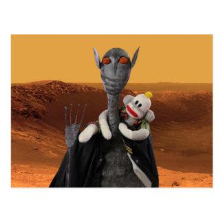 Cartão Postal Vida em Marte