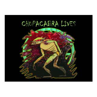Cartão Postal Vidas do Chupacabra