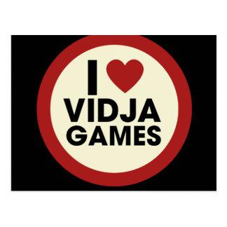 Cartão Postal Video games