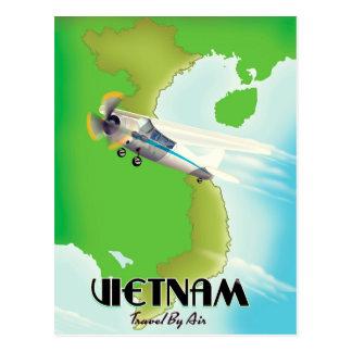 Cartão Postal Vietnam pela cópia das férias do ar