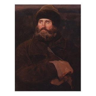 Cartão Postal Viktor Vasnetsov- Ivan Petrov, um camponês
