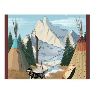 Cartão Postal Vila Cherokee