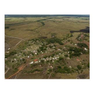 Cartão Postal Vila de Amerindan. Sazonal-inundado