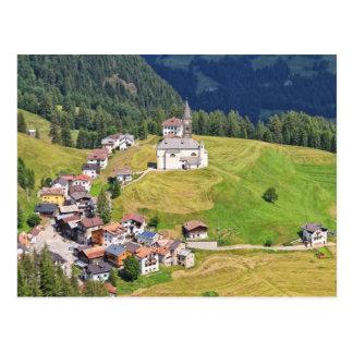 Cartão Postal Vila de Laste - Italia