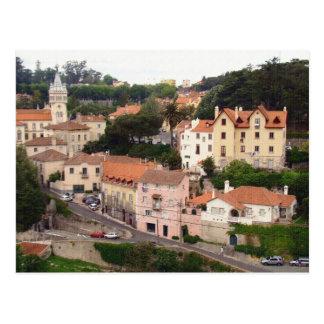 Cartão Postal Vila de Sintra em Portugal