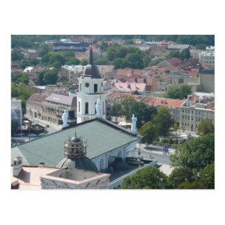 Cartão Postal Vilnius