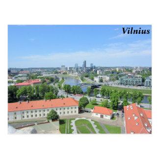 Cartão Postal Vilnius, Lithuania